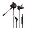 In Ear Gaming Headset with Mic 3.5mm For Game Playing AKG GM-D2 Black