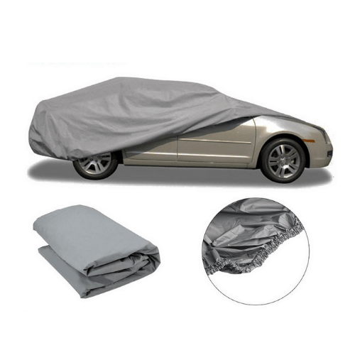 Waterproof Full Auto Car UV Breathable Outdoor Cover PEVA
