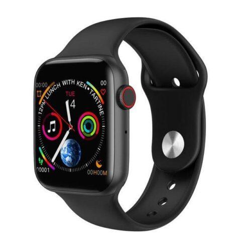 Sports Smartwatch Touch Bluetooth - Black