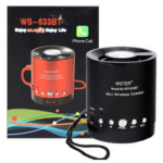 Portable Speaker with microSD / USB Player and Radio WS-633BT