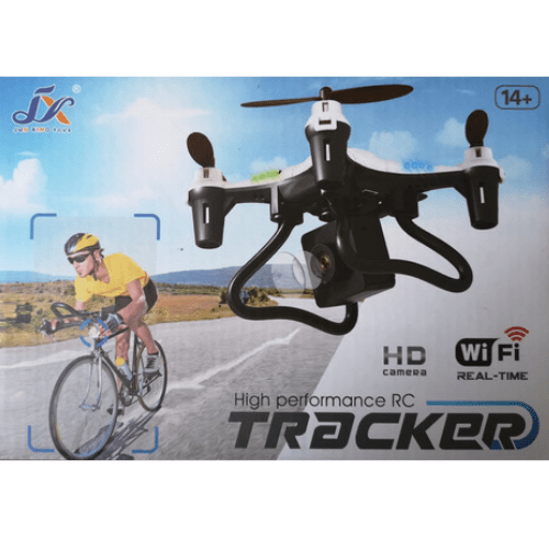 High-Performance RC Drone Tracker HD Camera Wi-Fi Jun Xing Toys