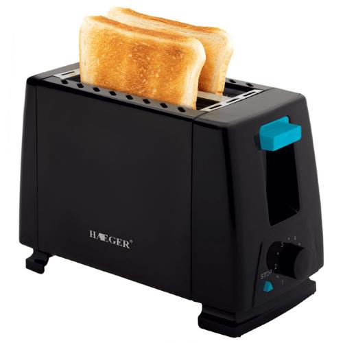 2 Slice Toaster 650W HAEGER HG-263