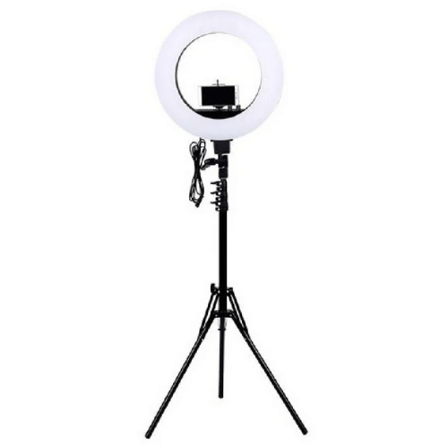 12 LED Selfie Ring Light With Tripod Stand And Cellphone Holder SP-12C