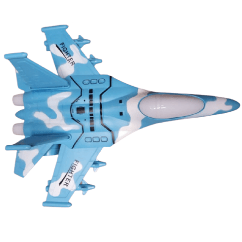 Fighting Airplane Toy Battery With Sound And Light Jun Cheng Toys 5988C-2