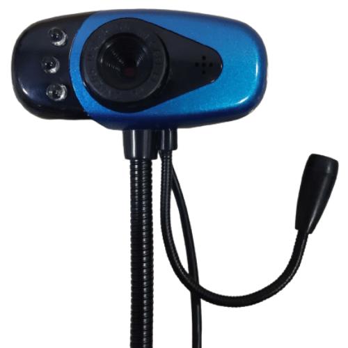 Κάμερα Υπολογιστή Webcam USB Με Εύκαμπτη Βάση Με Μικρόφωνο Για Φορητό Και Σταθερό Υπολογιστη 24841