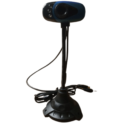 Flexible Base USB Webcam Camera With Microphone For Desktop Laptop PC 24841