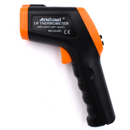 Handheld Temperature Gun Non-Contact Infraded Thermometer Andowl Q-A01