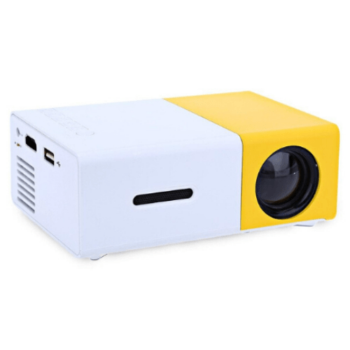 LED Mini Projector High Resolution Supports 1080P Andowl YG300