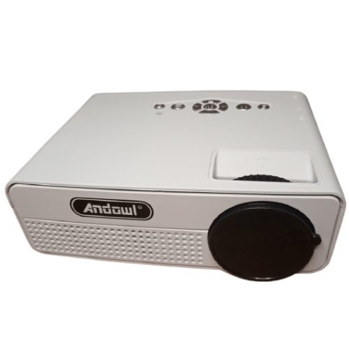 LED Projector High Resolution Supports 1080P HDMI Andowl Q8HD