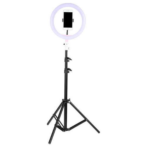 LED Selfie Ring Light With Decorative Ears , Tripod Stand And Cellphone Holder OL26