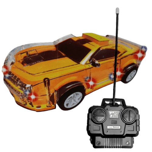 Race Car with flashlights and Remote control for Age +3, Speed Venevo Racing of DA HUA TOYS -031