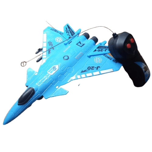 Remote Controlled Electric War Plane With Lights For Children And Adults
