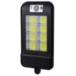Solar Wall Light with 2V6W Solar Panel 160 8 COB Lamp Beads Small Street Light HS 8013COB-C