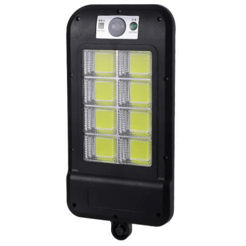 Solar Wall Light with 2V6W Solar Panel 160 8 COB Lamp Beads Small Street Light HS 8013COB-C
