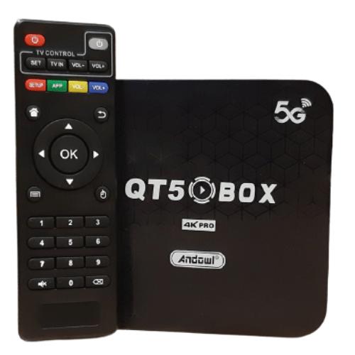TV Box 4K Pro 2GB Ram 16GB Rom-Andowl QT5