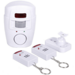 Alert Infrared Sensor 105db Anti-theft Motion Detector Alarm Monitor Wireless Remote Controlled Alarm system 24796
