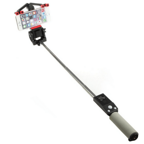 Electric Rotating Smart 360 ° Selfie Stick Bluetooth With Built-In Control And Mirror Iphoto 38180