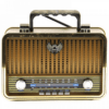 Kemai MD-1909BT USBSDMP3Bluetooth Wireless Retro Radio - Gold