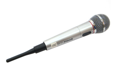 PROFESSIONAL MICROPHONE FOR KARAOKE SINGING CONCERTS UNIDIRECTIONAL WIRELESS WG-309 CW311