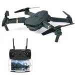 Micro Foldable Drone Set 4K Camera With Remote Control Black 15 Minutes Flight Time 300ft OEM- 998Pro