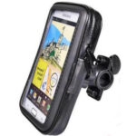 Weather Resistant Phone Casing With Mount For Bicycle Suitable For All Smart Phones Stand Holder 360° 2383