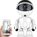 Andowl Robot Camera Smart Auto Tracking 1080P home security IP Q-S39 White