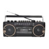 CMIK STEREO RADIO CASSETTE RECORDER WITH USB / SD Ghettoblaster,Back to the 80's-MK-133