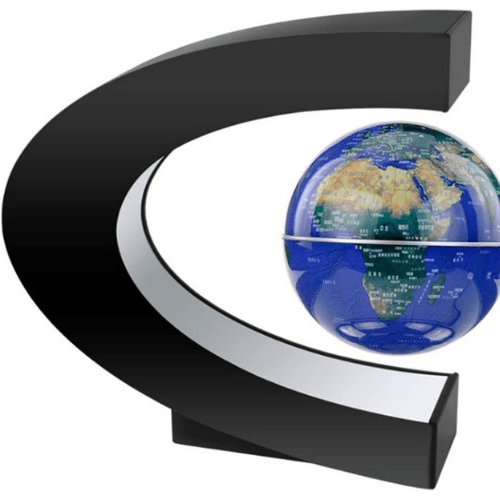 Globe Floating in MidAir,A good Desk Decoration,A good Promotion Gift,Color LED Lights-GB29