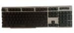 Andowl RGB Rainbow Backlit Gaming Keyboard Designed for Gaming,Multi Colour per Key,IP32,Metal Plate Machine Feel-QK708