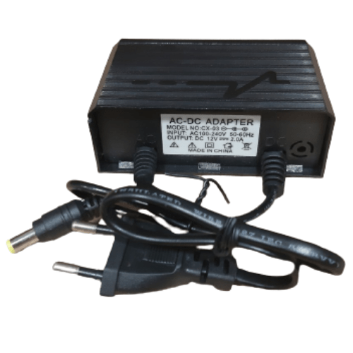 AC-DC Adapter, ARS Switch Regulated Power Supply and Adapter, Input AC100-240V 50-60Hz, output 12V2.0A For Camera and Massage Device- CX-03