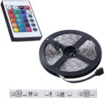 Waterproof RGBW 5m LED Strip with Power Supply and Remote Control SMD5050 12V IM-7388