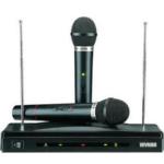 WVNGR HeroStar Two Channels Wireless Microphone System C-05