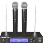 WVNGR Digital Studio Quality Karaoke Device with 2 Wireless Microphones, WG-2009