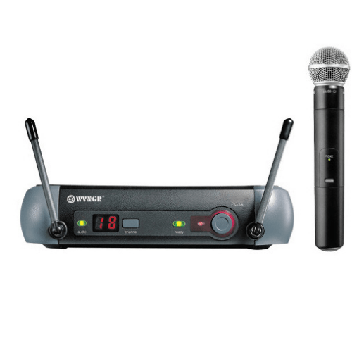 WVNGR Professional Wireless Microphone set UHF-PGX4