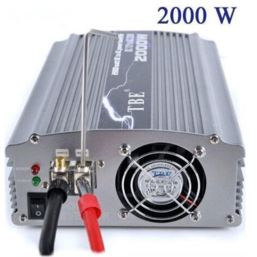 TBE Modified Halftone Car Inverter 2000w 12v-MH48