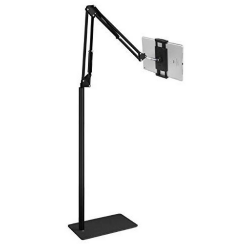 Floor Mobile Stand - Handsfree Tablet with Adjustable Arm 1.4m-KS49