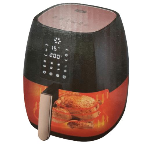 Andowl Air Fryer 1400 Watt 5L LCD Display,Timing Function,Strong Firepower Q-Z8
