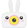 Kids Camera 2-inch screen, Timed Self-timer, Support Extensions, Autofocus, Environmentally friendly materials QK6-White