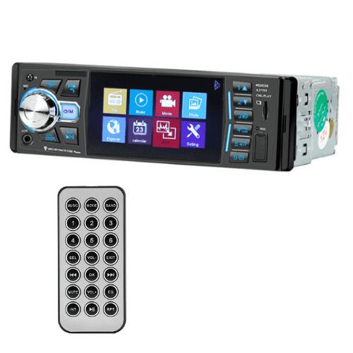 Car Radio Player with fixed Panel FMUSBCARDMP5REMOTE 60Wx4 Anti-Shock-4026U