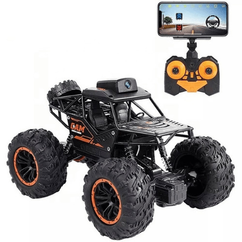 Climbing Car with Wireless Camera and Remote Control for Android And IOS, Save Video File and Rechargeable 20 munites playing, Lead Holder LH-C023A