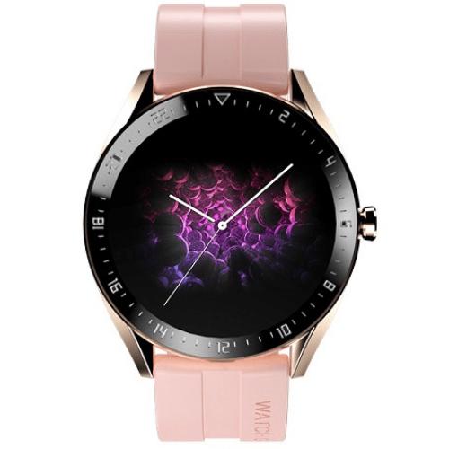 K60 Smart Watch Men Women Full Touch Round Screen Smartwatch Heart Rate Fitness Tracker Music Control Custom Dials Sport Watches