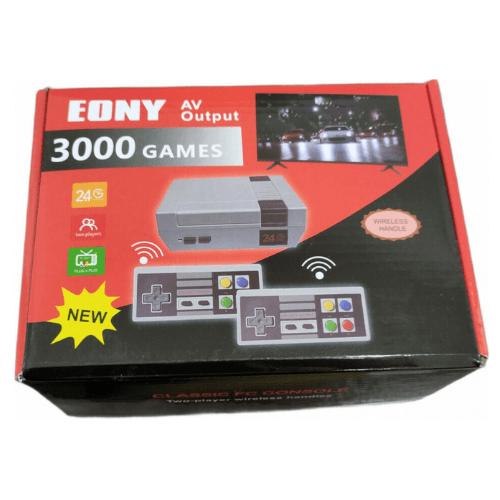 Retro Wireless Game Console Eony Classic FC 3000 Games