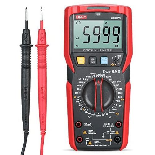 UNI-T True RMS AC DC High Precision Digital Multimeter-UT89XD