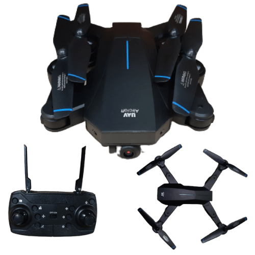 FOYU Super Drone Shuttle Foldable and Rechargeable UAV,14+Ages, 20 Minutes flight time 4K HDR FO-F710