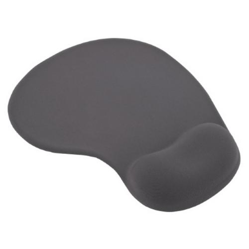 ESPERANZA Anti-Slippery Gel Mouse Pad, Easy to Keep Clean, With Ergonomic Design, 230x190x20mm, Grey EA137Y