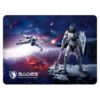 SADES Gaming Mouse Pad Lightning With Pattern, Low Friction, Rubber base, 4 Layer Process, 350 x 260mm SA-LIGHTNING