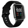 HAYLOU Smartwatch, Touch Color Screen, 1.4'', IP68, 12 Sport Modes, Heart Rate Monitor, With Long Lasting, Battery Black LS02-BK