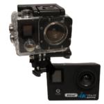 ANDOWL 4k Waterproof Sports Action Camera, Wifi, Ultra HD, 750 mAh, Super Wide Angle +Accessories QY-70K BLACK