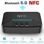 Andowl Q-T92 Bluetooth NFC Wireless Audio Transponder – Black