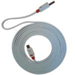 GRIFFIN Premium Flat USB Type-C Cable White 3m GTUW-3